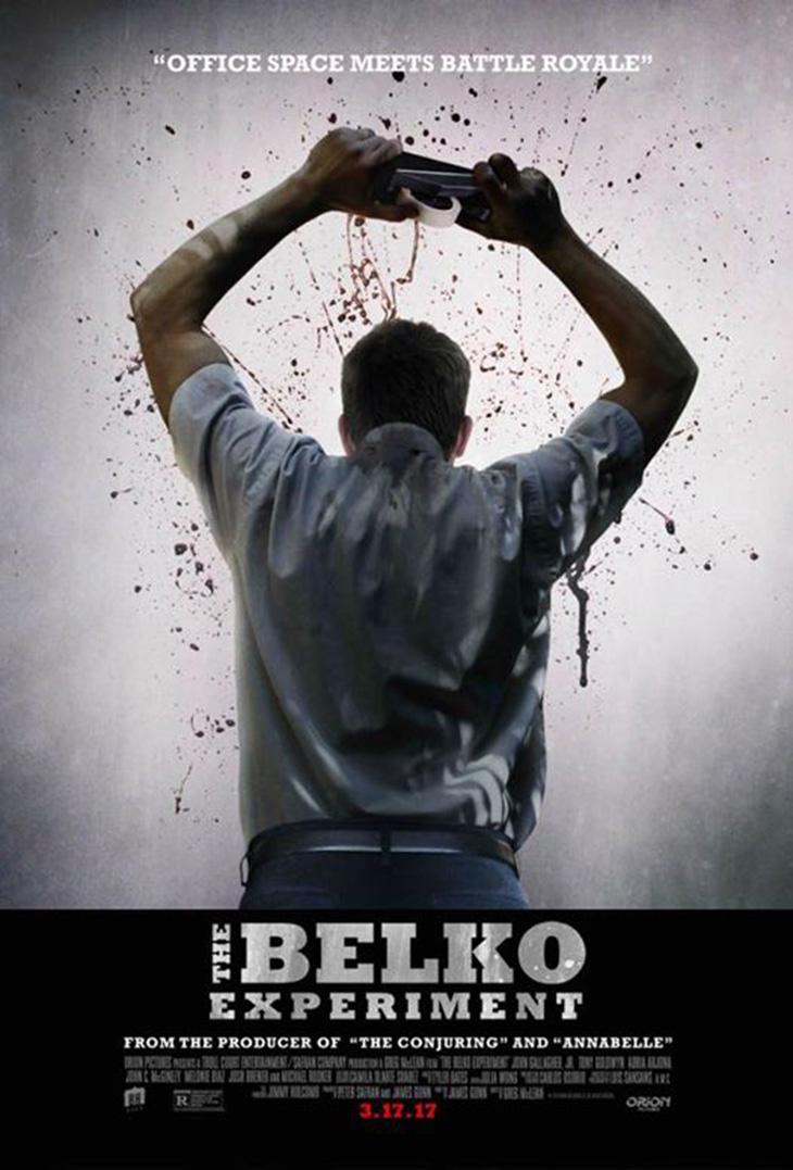Nuevo póster de The Belko Experiment
