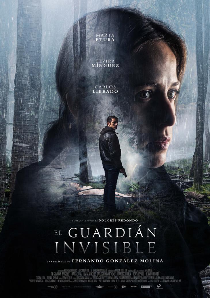 Póster final de 'El guardián invisible' la adaptación del fenómeno literario mundial