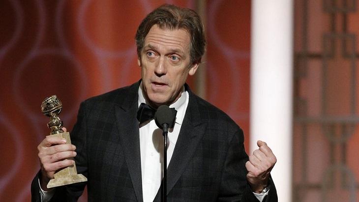 Hugh Laurie por 'El infiltrado'