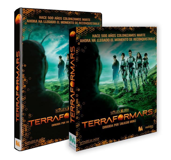 'Terra Formars' de Takashi Miike disponible a partir del 8 de Marzo