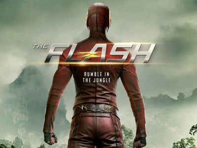 Póster de The Flash Attack on Gorilla City destacada