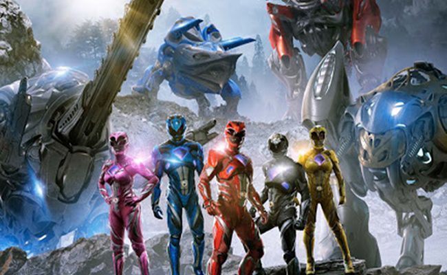 Nuevo póster de Power Rangers destacada