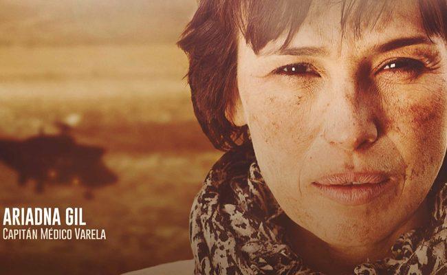 El espectacular film bélico Español 'Zona hostil' presenta carteles de personajes