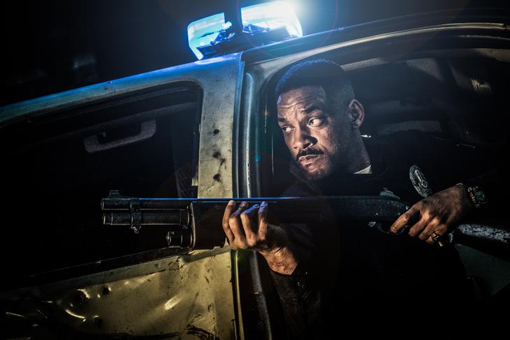 Will Smith interpreta en 'Bright' a un policía de Los Angeles