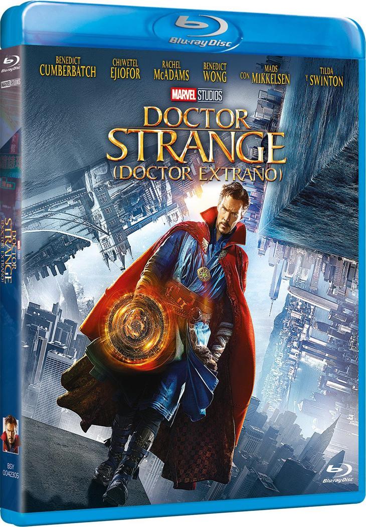 Ríndete al poder del 'Doctor Strange' y a sus extras en DVD y HD