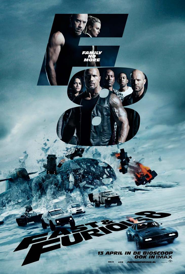 'Fast & Furious 8' calienta motores y activa la preventa de entradas un mes antes del estreno