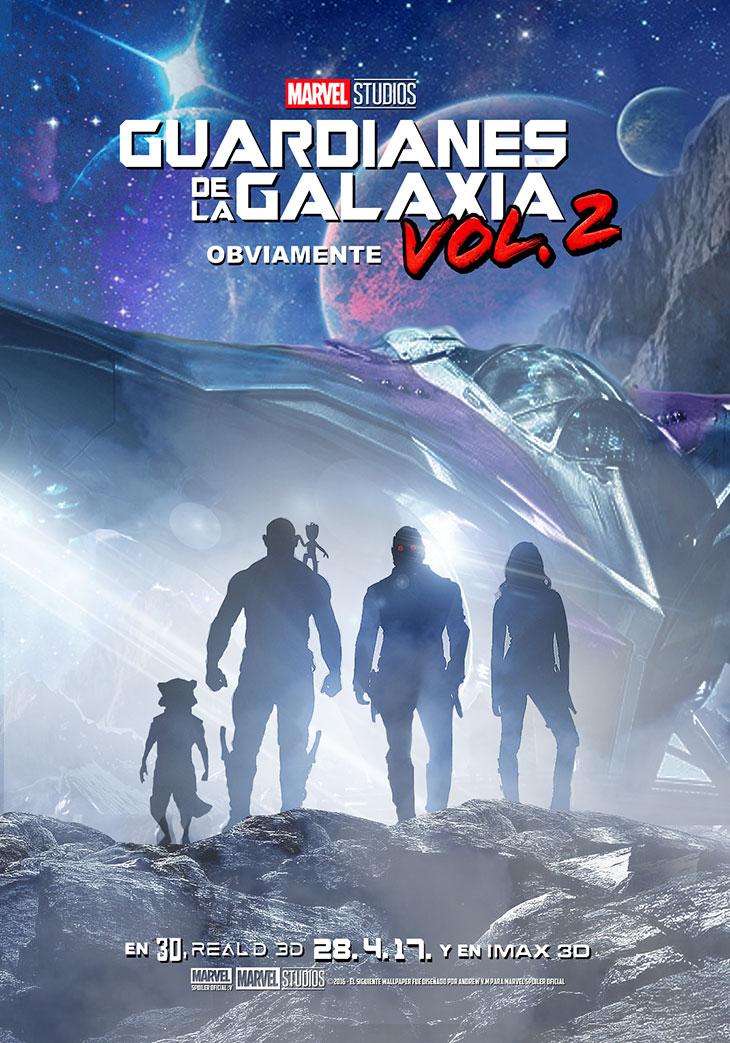 Póster de Guardianes de la Galaxia Vol.2