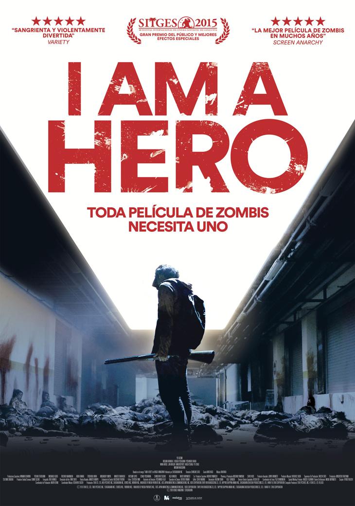 ¡La película de zombis triunfadora en Sitges 'I Am a Hero' llega por fin a los cines!