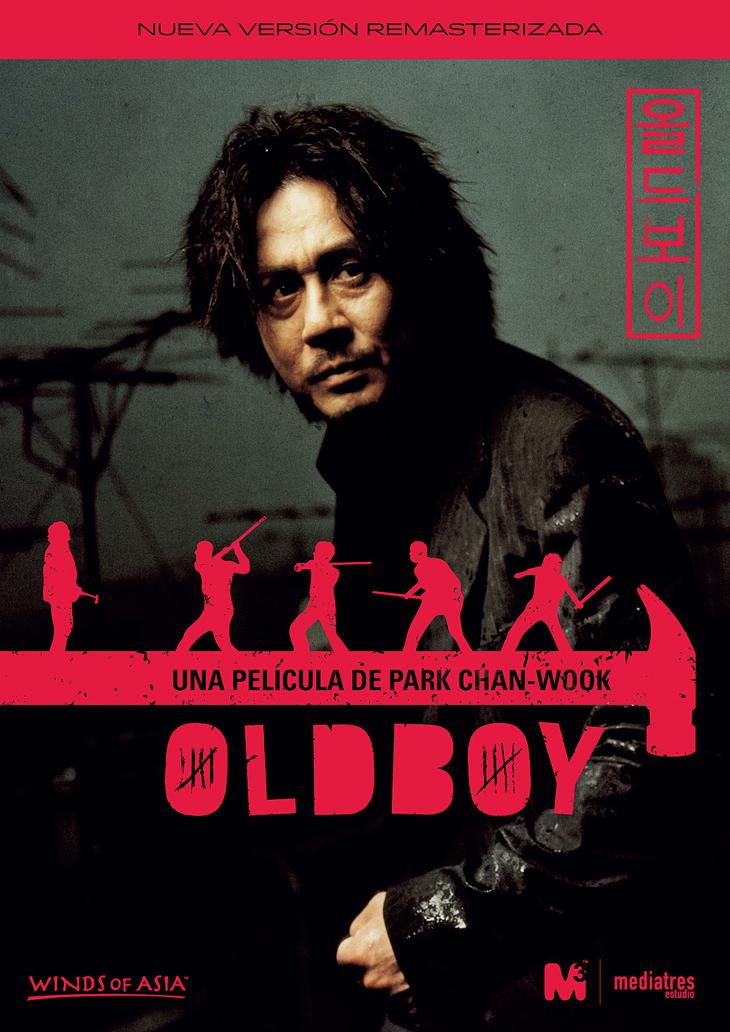 'Oldboy' la más importante película Coreana de todos los tiempos estará a la venta el 5 de Abril