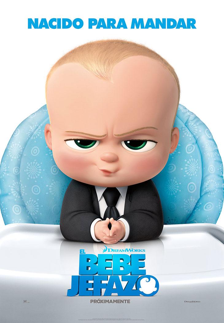Cartel en español de 'El Bebé Jefazo'