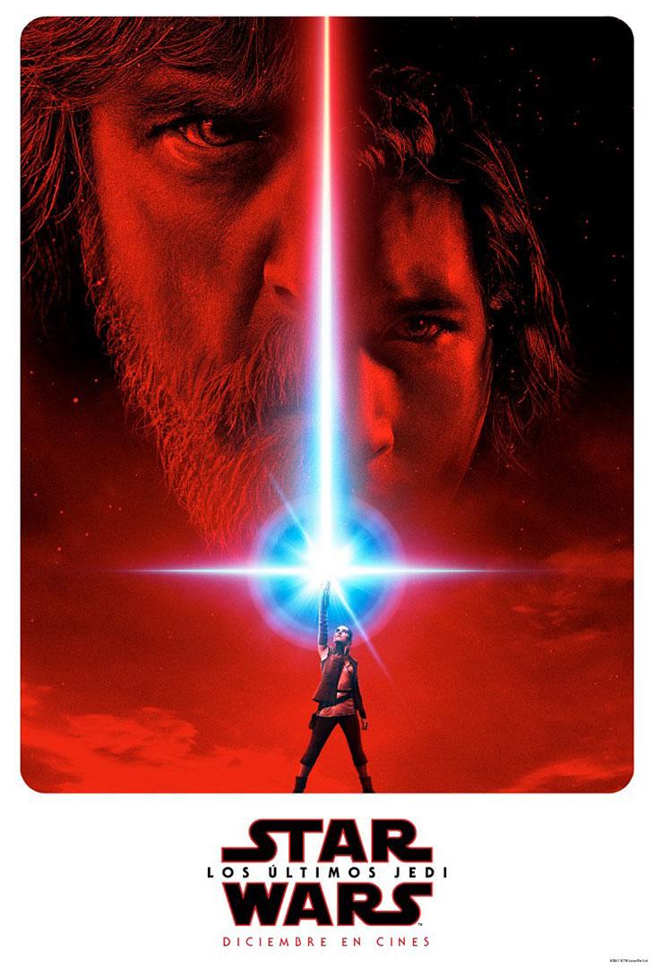 Póster de 'Star Wars: Los últimos Jedi