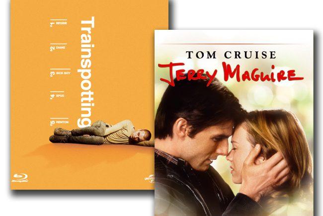 Nuevas ediciones en Blu-ray por el 20º aniversario de dos iconos de los noventa: 'Jerry Maguire' y 'Trainspotting'