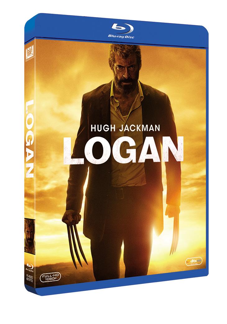 Portada en Blu-ray de 'Logan'