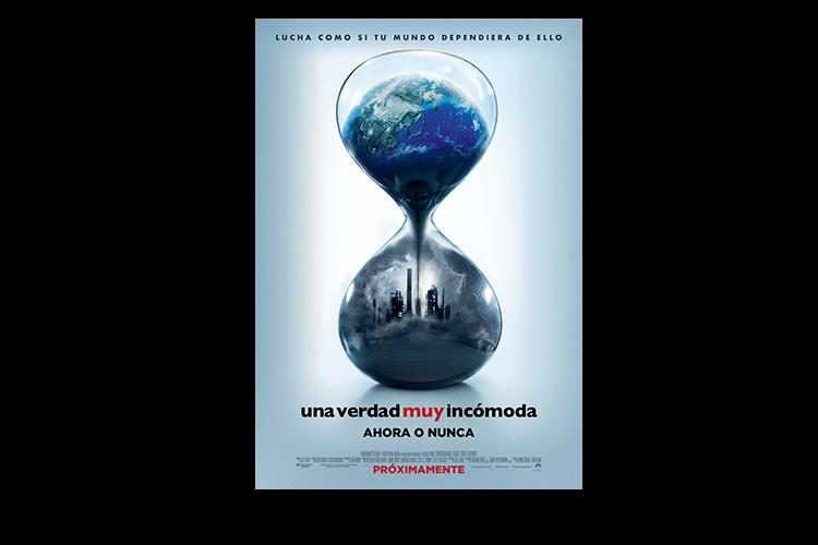 Póster en español de Una verdad muy incómoda: ahora o nunca