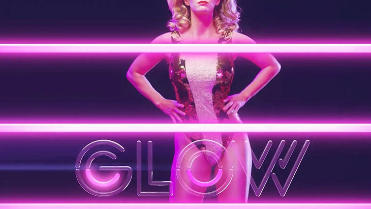 Una imagen promocional de Glow