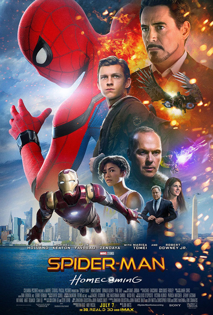 Póster de Spider-Man: Homecoming