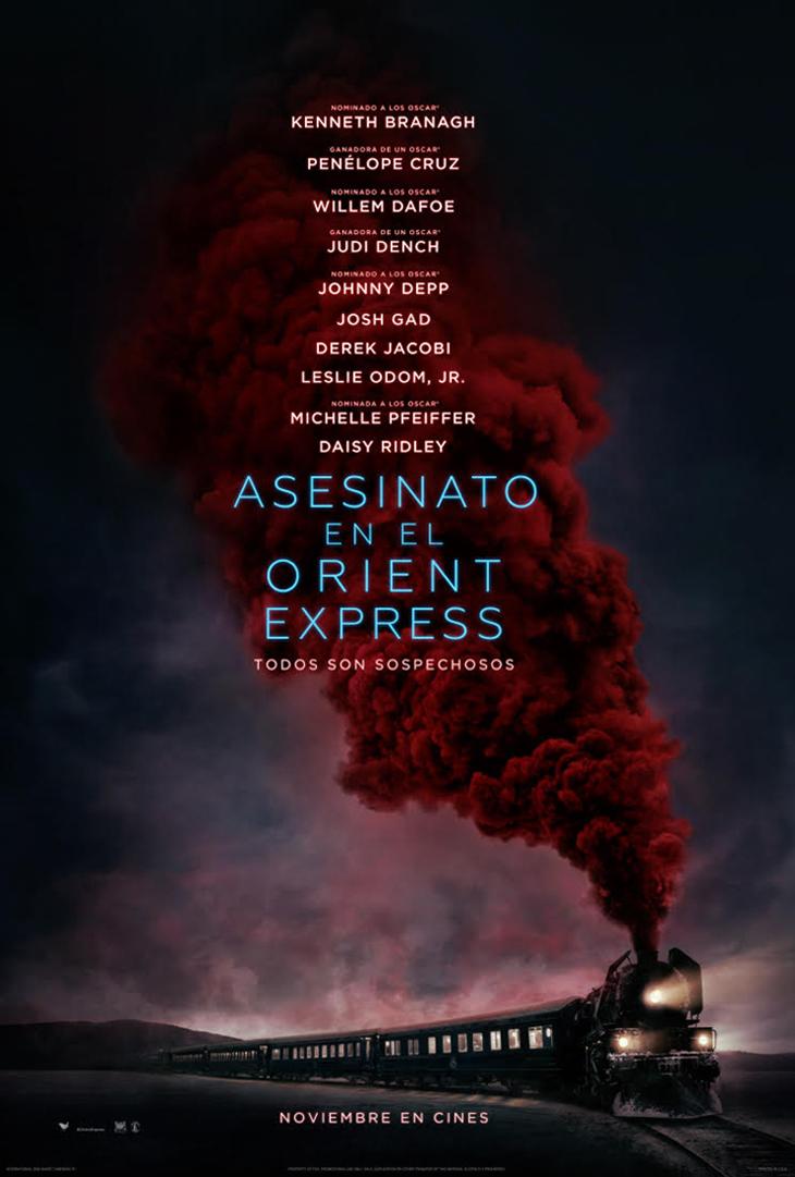 tráiler de 'Asesinato en el Orient Express'