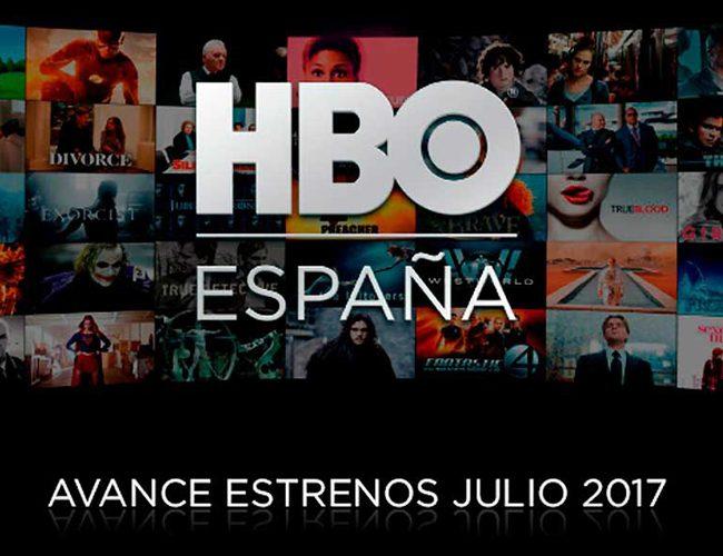 Avance estrenos julio HBO España