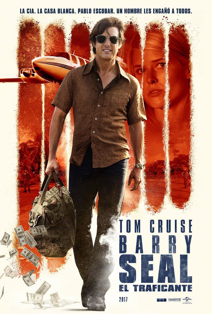 Póster de Barry Seal: el traficante