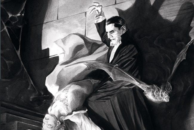 Carátula del clásico de terror 'Drácula'