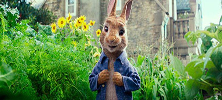 Fotograma de la película animada 'Peter Rabbit'