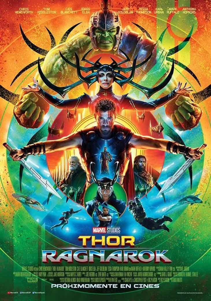 Póster de Thor Ragnarok