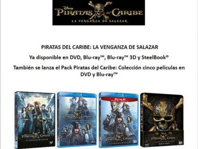 Todas las ediciones de 'Piratas del Caribe: la venganza de Salazar' destacada
