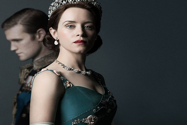 póster oficial de la segunda temporada de 'The Crown'destacada
