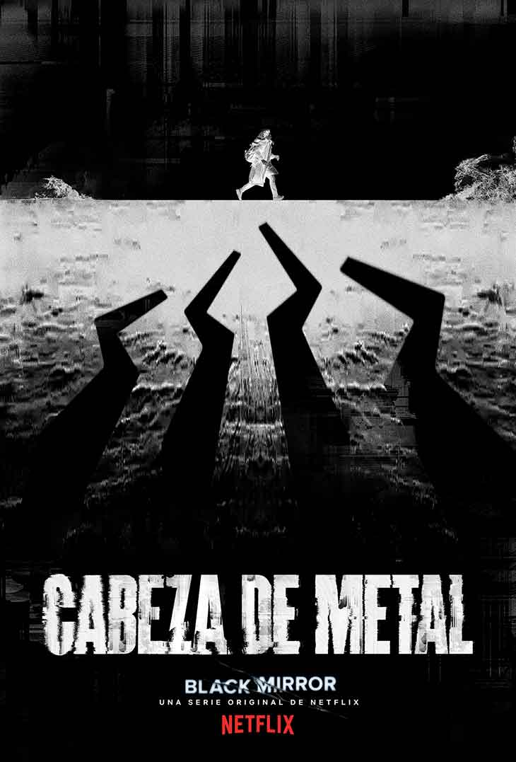 Póster de Cabeza de Metal