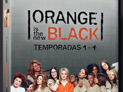 Carátula pack cuatro temporadas 'Orange is the new black'