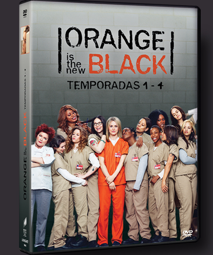 Pack 4 temporadas 'Orange is the new black'