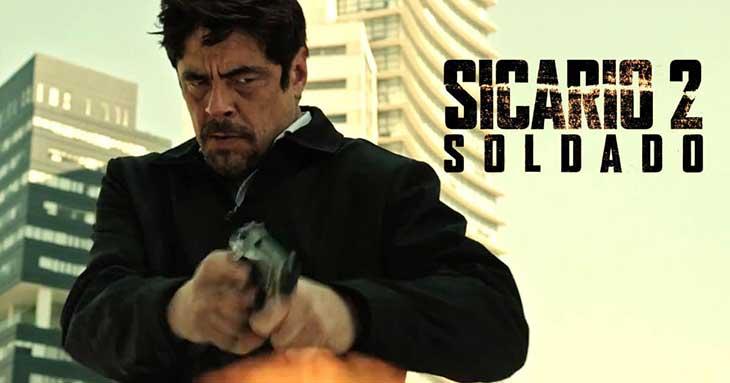 Benicio del Toro en Sicario 2