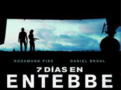 Cartel '7 días en Entebbe'