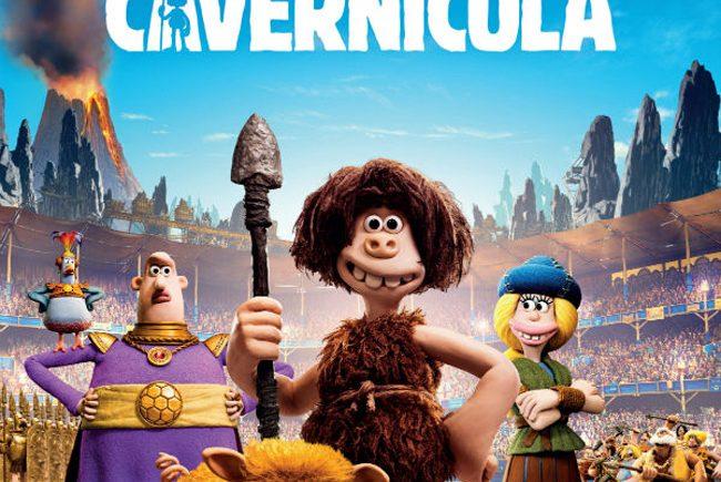 Cartel película animada 'Cavernícola'