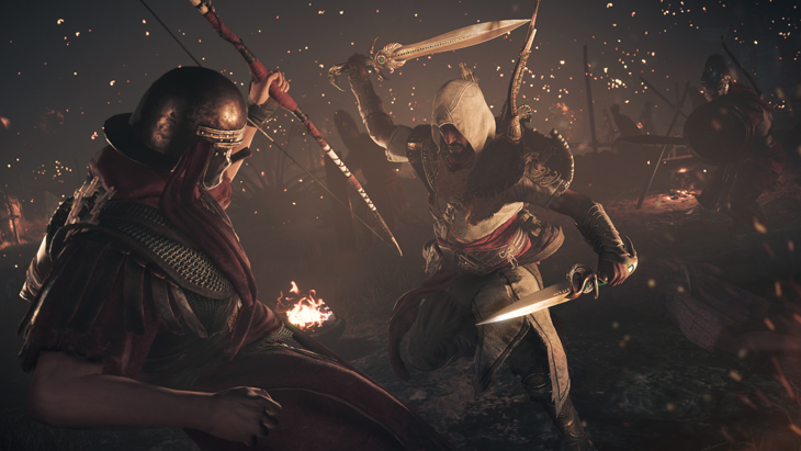 Fotograma videojuego 'Assassin's Creed Origins'