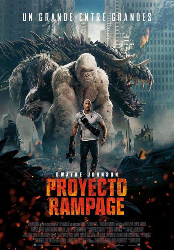 Cartel de Proyecto Rampage