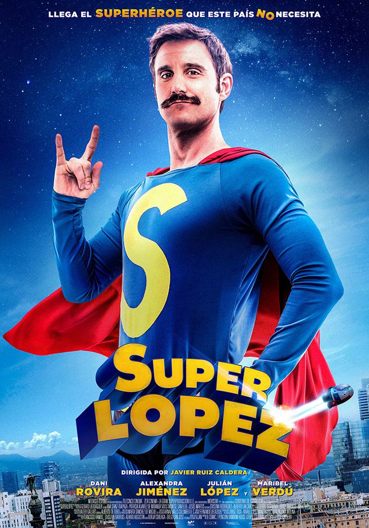 Póster de Superlópez