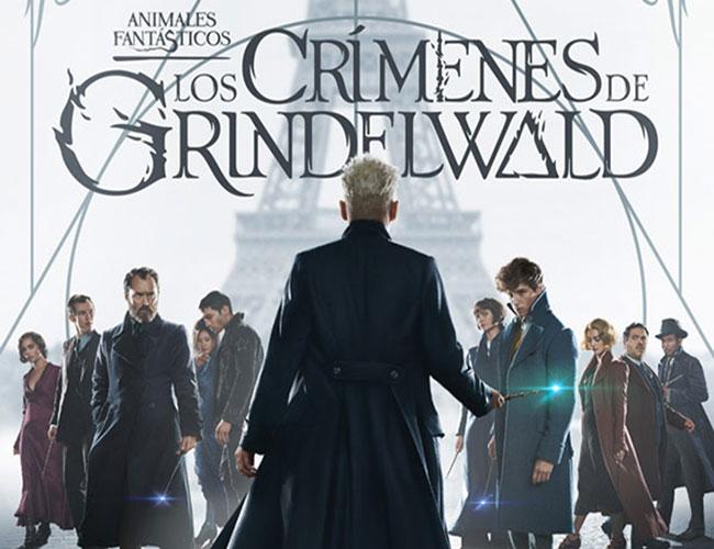 Cartel de 'Animales fantásticos. Los crímenes de Grindelwald' destacada