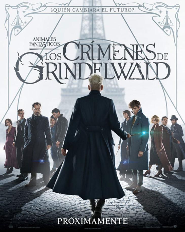 Cartel de 'Animales fantásticos. Los crímenes de Grindelwald'