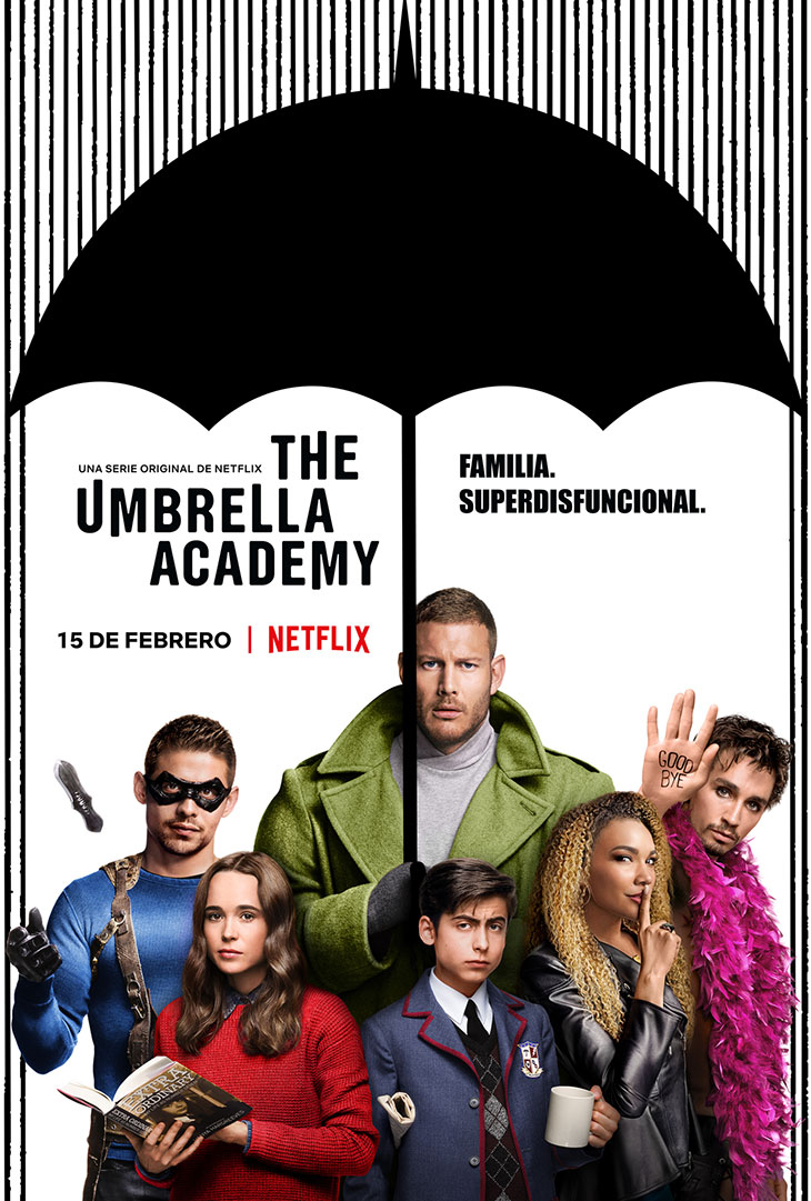 Póster de The Umbrella Academy