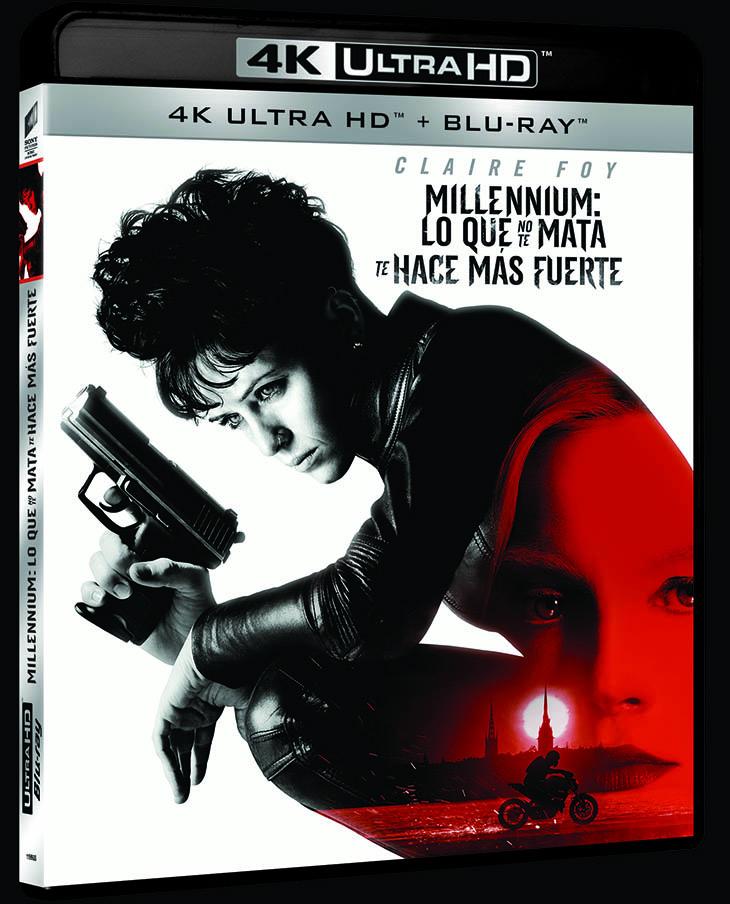 Millenium: lo que no te mata te hace más fuerte,en DVD, Bluray & 4K ...