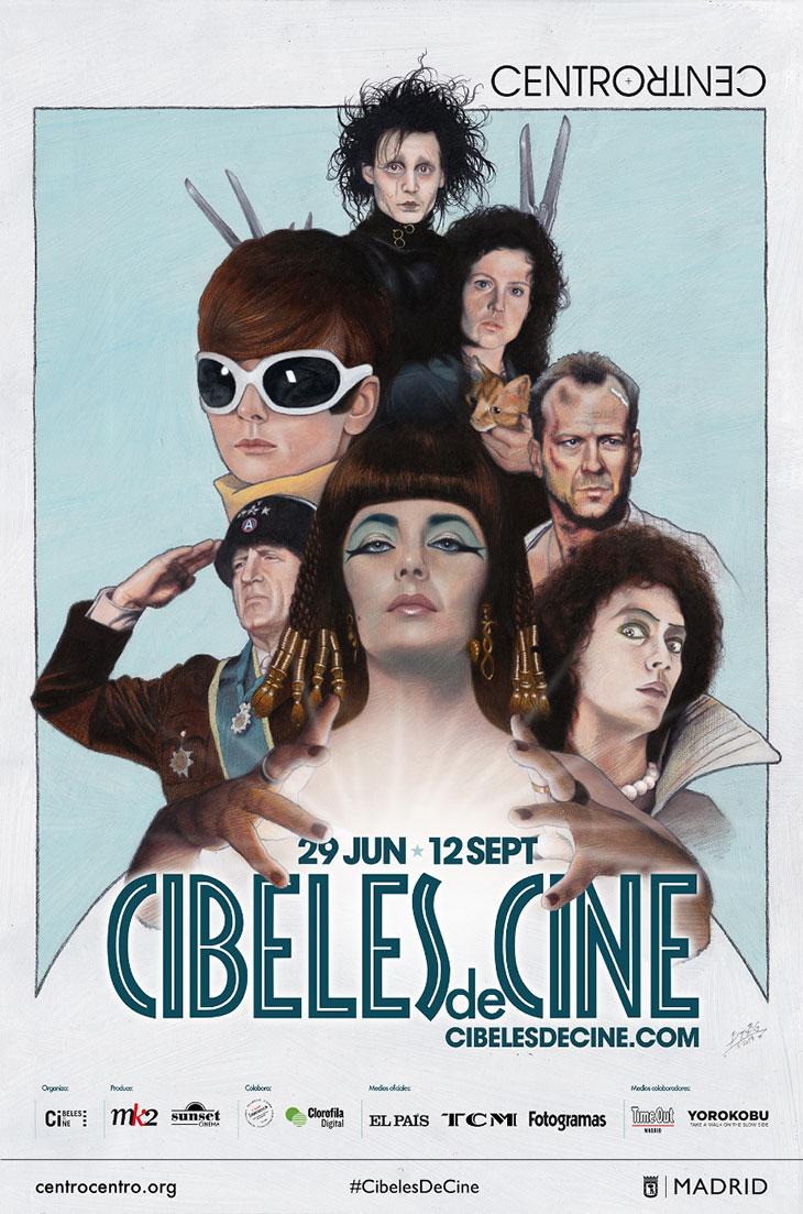Póster de Cibeles de Cine