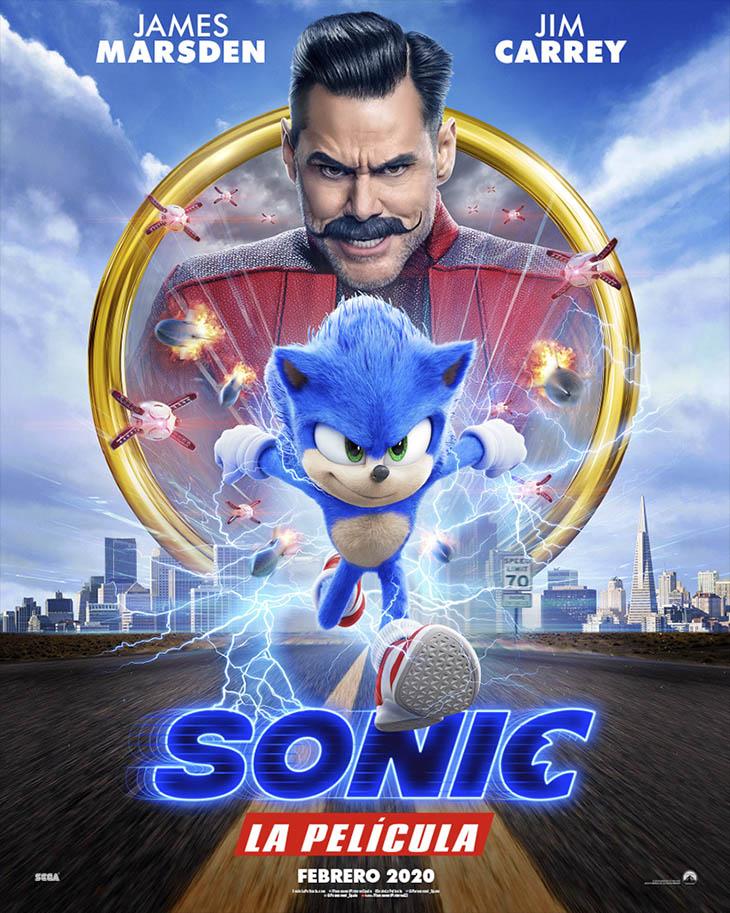 Póster de Sonic