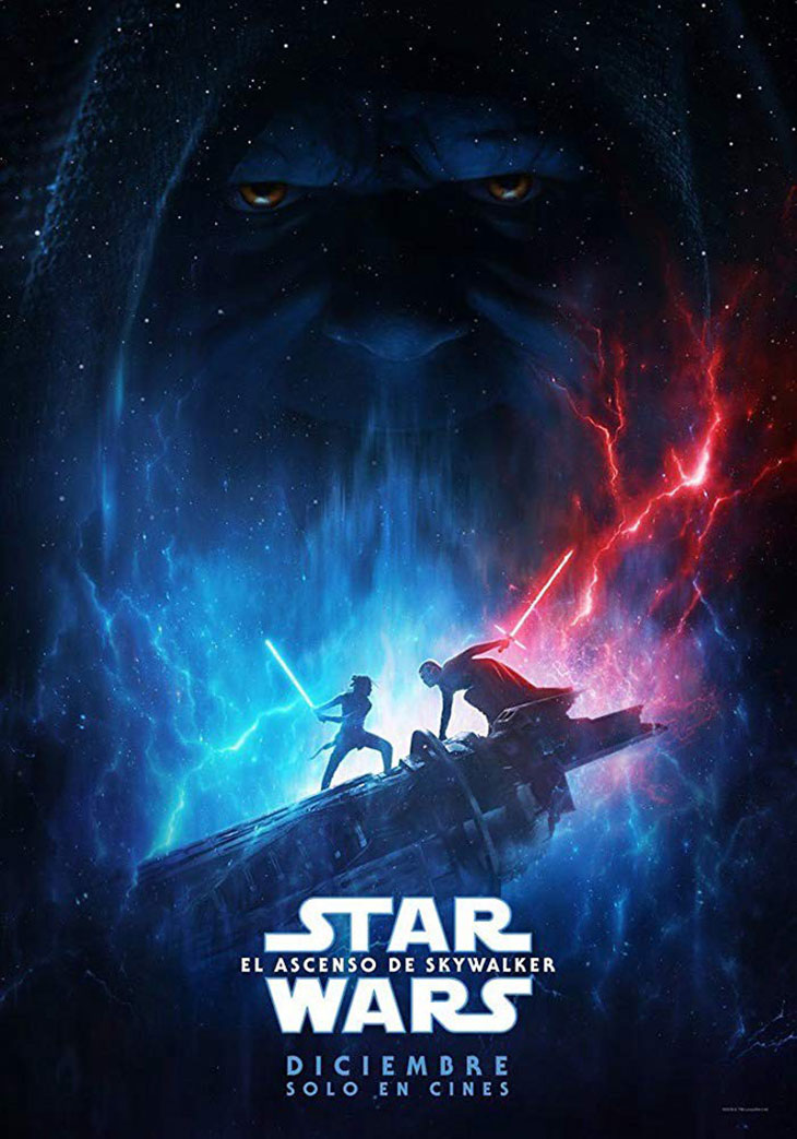 Póster de Star Wars. El ascenso de Skywalker