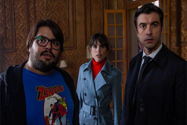 El trío protagonista de Orígenes Secretos destacada